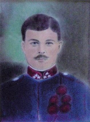 Stanislaw Kulawiak Military Portrait