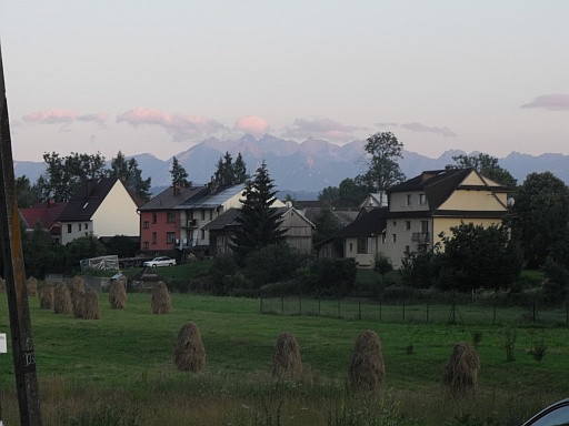Beautiful view of the Tatry Mountains