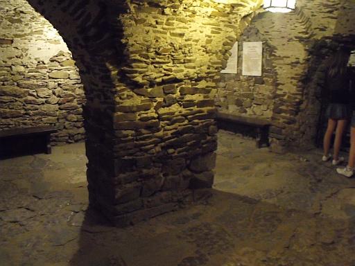 Cellar in Niedzica castle