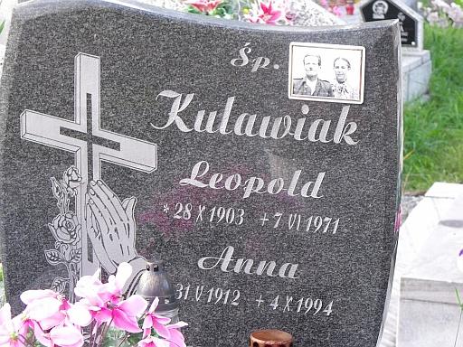 Kulawiak Leopold headstone