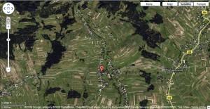 Odrowąż on google map (click to enlarge).