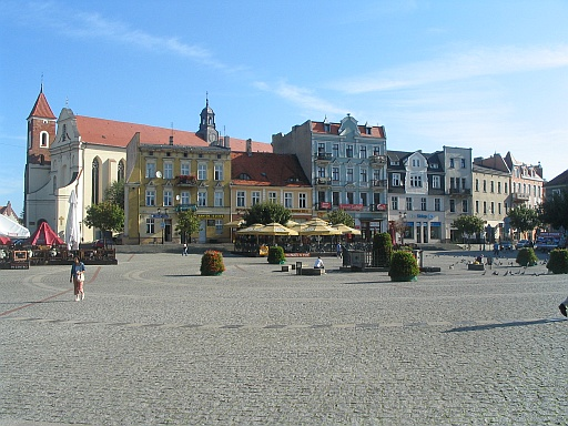 Gniezno old town
