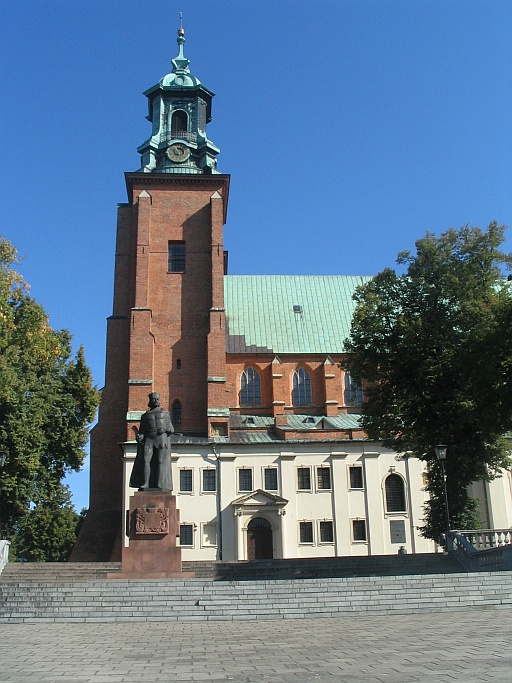 Cathedral and the first Polish king Bolesław I the Brave