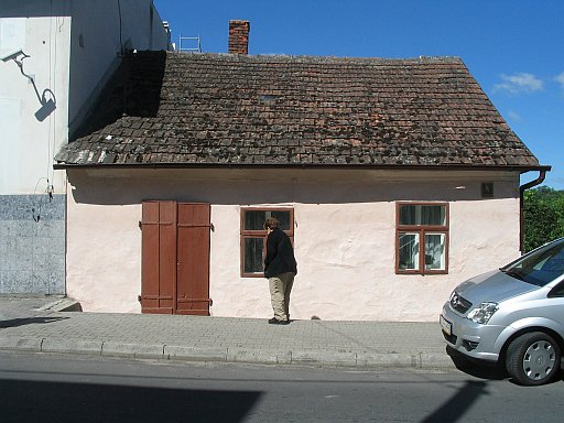 Rzeszów region. Tyczyn. When my guest noticed the house she said: It looks very similar to house in front of which my father is standing in one of the old photographs from Tyczyn... title=