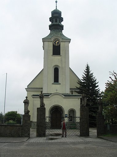 Tarnów area. Church in Lisia Góra. This is where great-grandparents and their parents worshiped.