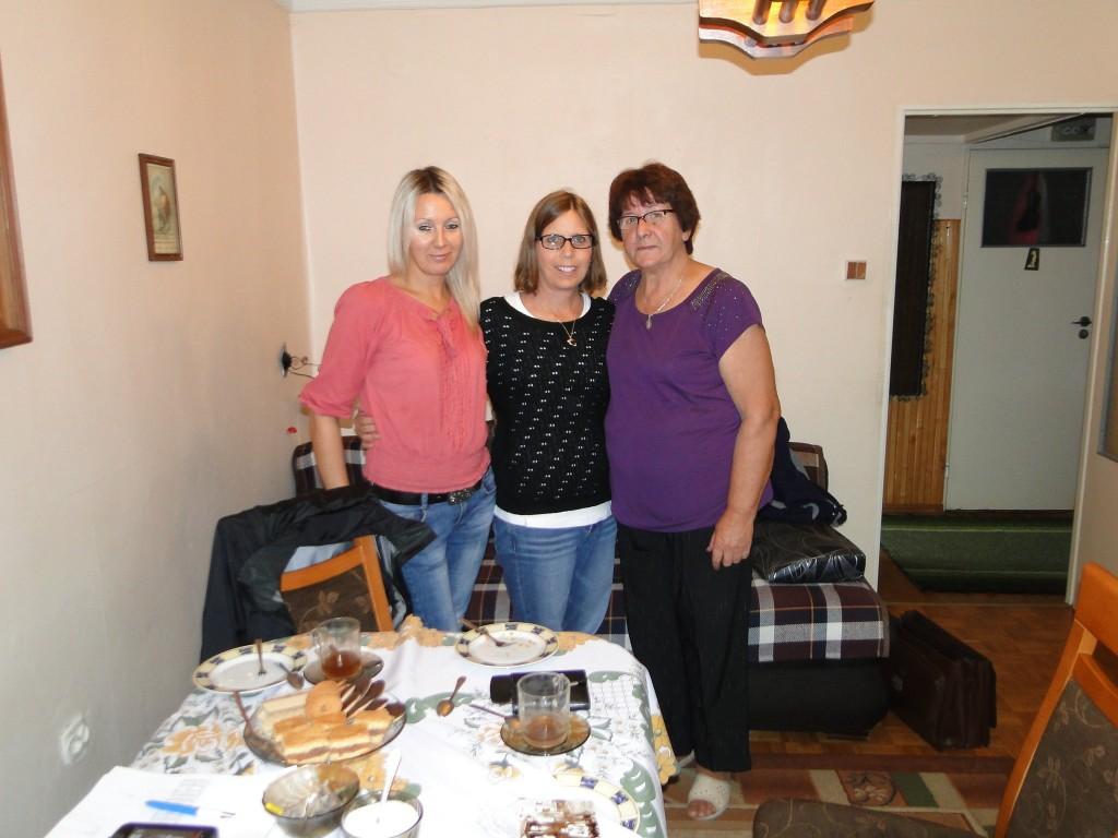 Mariola, myself and Halina
