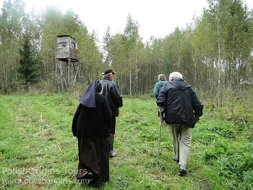 An old Soviet's watchtower at the border zone.