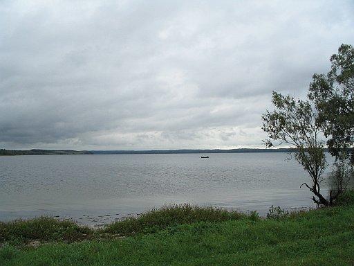 Wisztynieckie lake - border of Lithuania and Russia