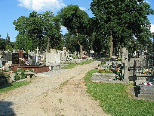 Lomza Cemetery at Mikolaja street