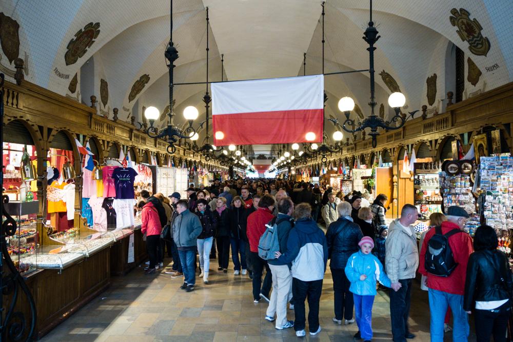 Cloth Hall (Sukiennice) in Kraków