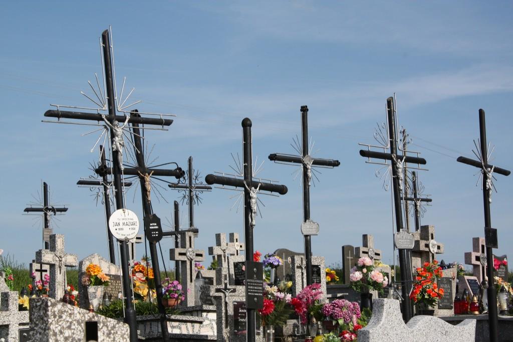 Cemetery in Sieklówka