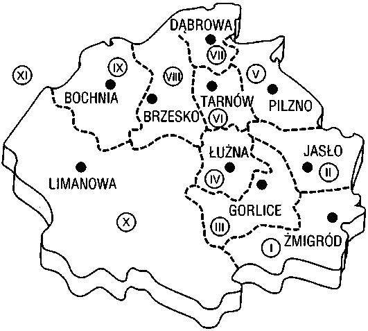 Mapa_okręgów_zachodniogalicyjskich_cmentarzy_wojennych_(1918)
