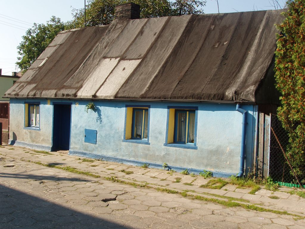 old family house in Swarzedz
