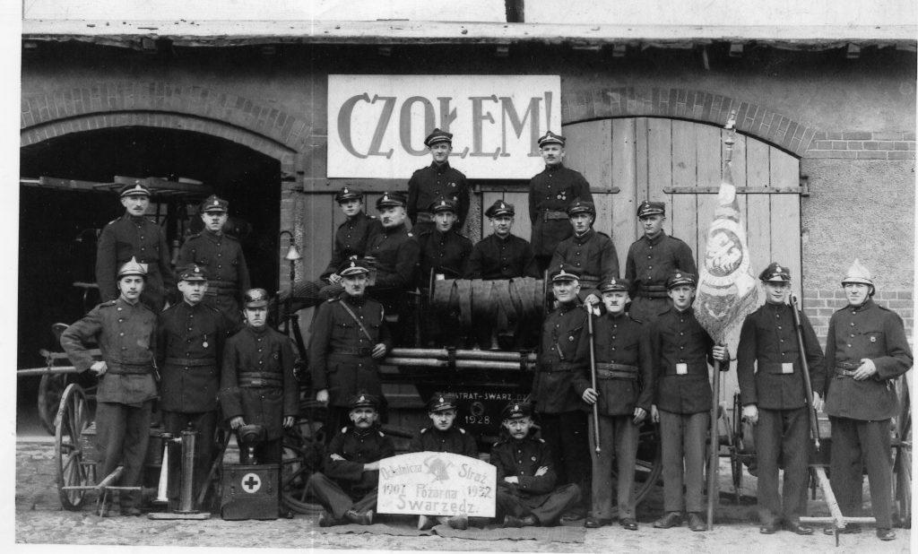 Fire station in Swarzedz